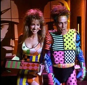 Trickster (comics) - The Trickster, played by Mark Hamill, with his sidekick Prank, played by Corinne Bohrer, in The Flash.
