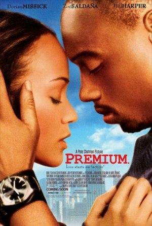 Premium (film) - Theatrical release poster