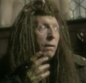 Puddleglum, as portrayed by Tom Baker in the B...