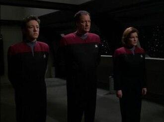 Q2 (Star Trek: Voyager) - Q Junior, Q Senior and Janeway