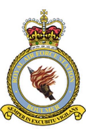 RAF Boulmer - Image: RAF Boulmer crest