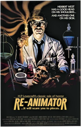 Re-Animator - Theatrical release poster