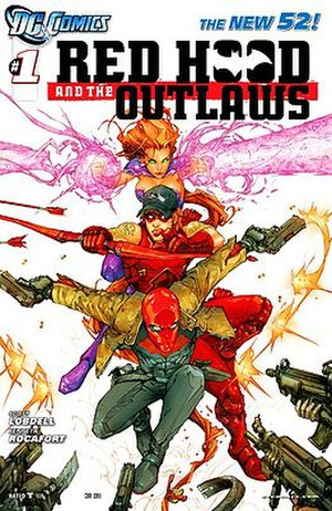 Red Hood and the Outlaws - Image: Red Hood and the Outlaws Vol 1 1
