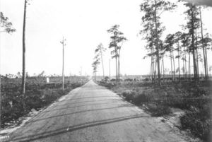 Red Road (Miami) - Red Road in 1921 in Coral Gables