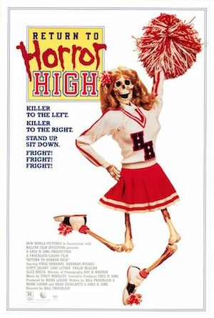 Return to Horror High - Theatrical release poster