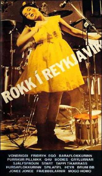 Rokk í Reykjavík - Image: Rokk í Reykjavík (VHS front cover)