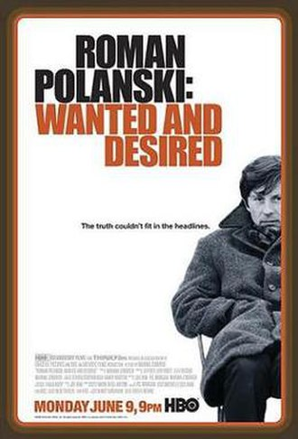 Roman Polanski: Wanted and Desired - Promotional poster