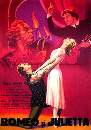 Romeo and Juliet (1955 film) - Film poster