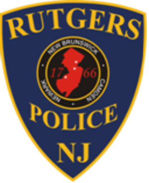 Rutgers University Police Department - Image: Rutgers Police Patch