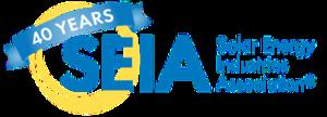 Solar Energy Industries Association - Image: SEIA 40th Anniversary Logo