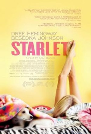 Starlet (film) - Theatrical release poster