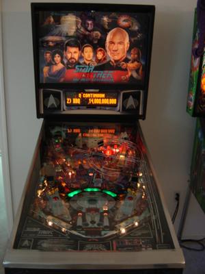 Star Trek: The Next Generation (pinball) - Image: STTNG pinball