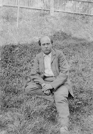 Arnold Schoenberg - Arnold Schönberg in Payerbach, 1903