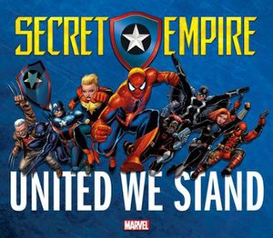 Secret Empire (comics) - One of the many posters that was released as a teaser for Secret Empire