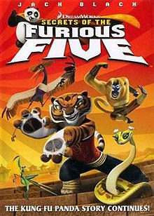 Kung Fu Panda 2 Dvd Cover Secrets of the Furious...