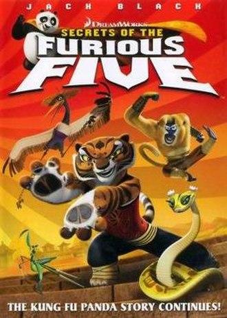Secrets of the Furious Five - Original poster