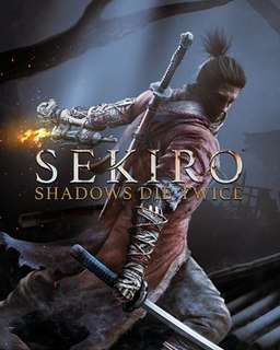<i>Sekiro: Shadows Die Twice</i> 2019 action-adventure video game developed by FromSoftware
