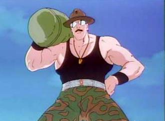 Sgt. Slaughter (G.I. Joe) - Sgt. Slaughter as seen in G.I. Joe: The Movie.