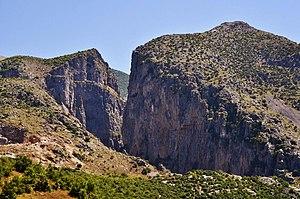 Skrapar - Gradec Cliffs near Çorovodë