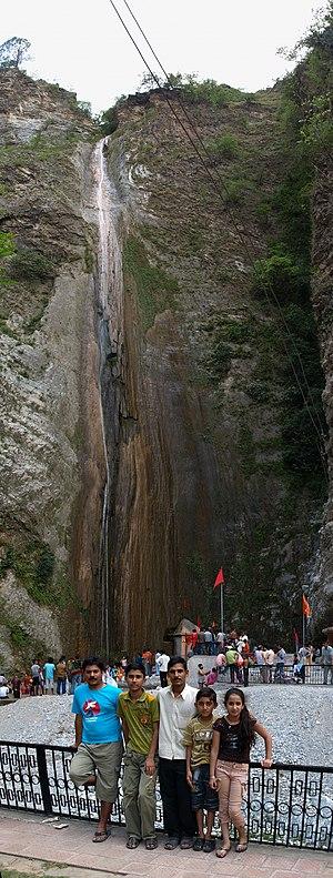Reasi - Sihar Baba Waterfall in Summer