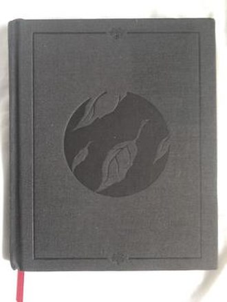 Sing the Sorrow - The hard book cover of the limited edition.