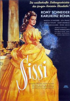 Sissi (film) - Theatrical release poster