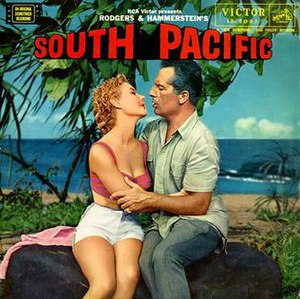 South Pacific (soundtrack) - Image: South Pacific soundtrack