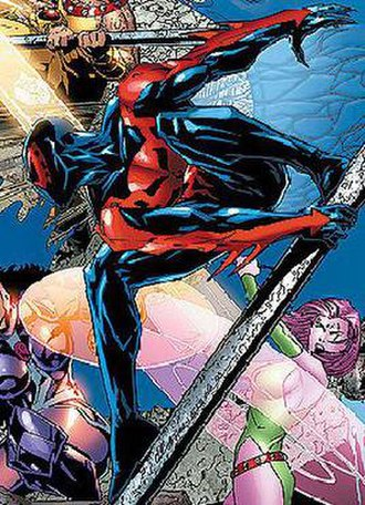Spider-Man 2099 - Spider-Man 2099 with the Exiles