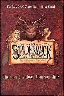 <i>The Spiderwick Chronicles</i> series of childrens books