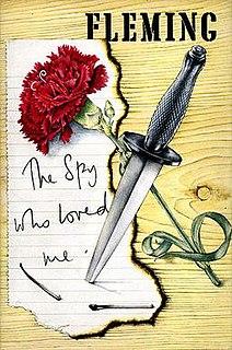 <i>The Spy Who Loved Me</i> (novel) James Bond novel by Ian Fleming