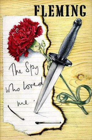 The Spy Who Loved Me (novel) - First edition cover, published by Jonathan Cape