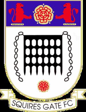 Squires Gate F.C. - Image: Squires Gate FC logo