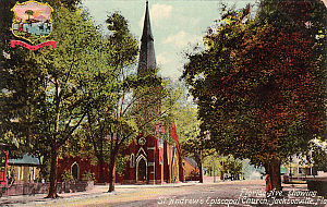 St. Andrew's Episcopal Church (Jacksonville) - St. Andrew's Episcopal Church c. 1910