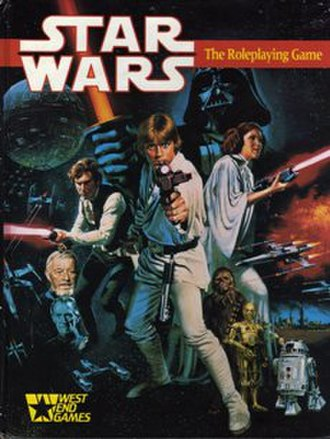 Star Wars: The Roleplaying Game - Image: Star Wars Role Playing Game 1987