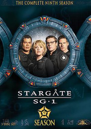 Stargate SG-1 (season 9) - DVD cover