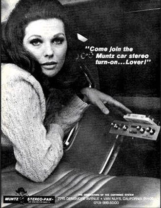 Madman Muntz - Muntz Stereo-Pak ads tended to feature attractive young models and suggestive tag lines.