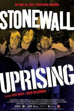 Stonewall Uprising - Theatrical release poster