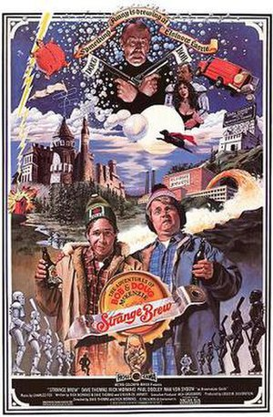 Strange Brew - Theatrical release poster by John Solie