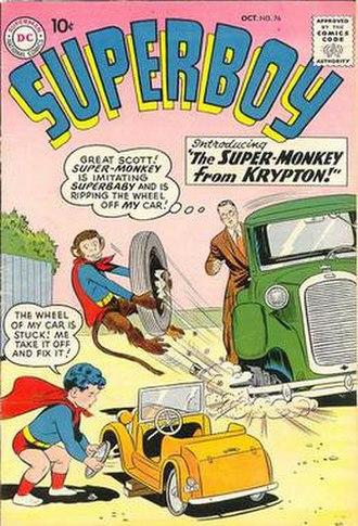 Beppo (comics) - Image: Superboy 76