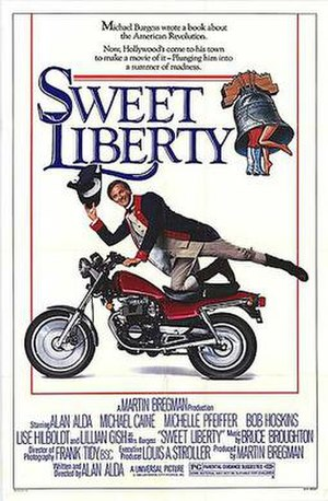 Sweet Liberty - Theatrical release poster