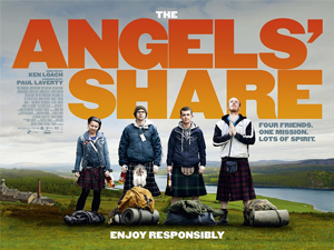 The Angels' Share - Theatrical release poster