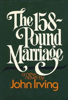 The 158-Pound Marriage book cover