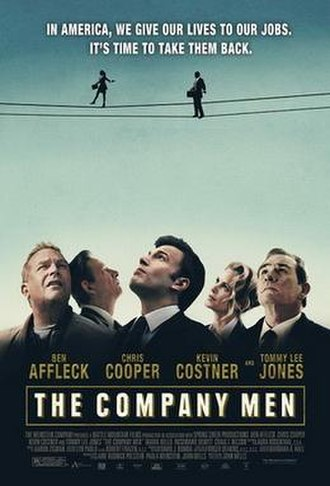 The Company Men - Theatrical release poster