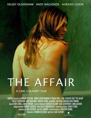 The Affair (2004 film) - Theatrical release poster