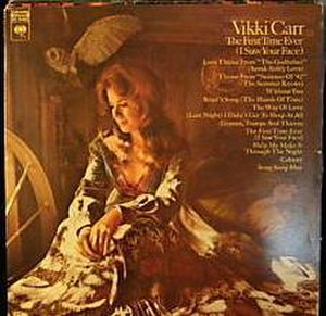 The First Time Ever (I Saw Your Face) (Vikki Carr album) - Image: The First Time Ever (I Saw Your Face)