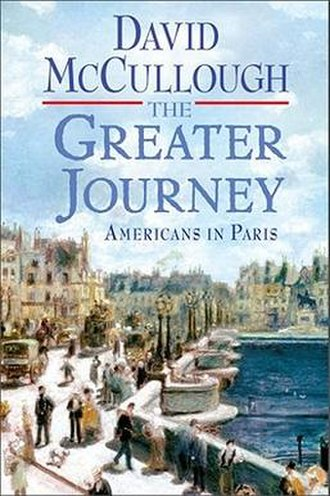 The Greater Journey - Image: The Greater Journey (David Mc Cullough book) cover