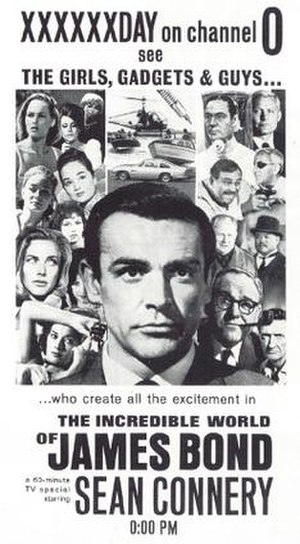 The Incredible World of James Bond - Original television advertisement designed prior to Sean Connery quitting the project