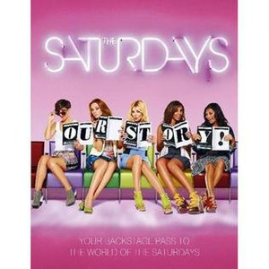 The Saturdays: Our Story - Front Cover