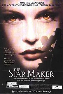 <i>The Star Maker</i> (1995 film) 1995 film by Giuseppe Tornatore
