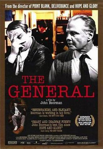 The General (1998 film) - Theatrical release poster